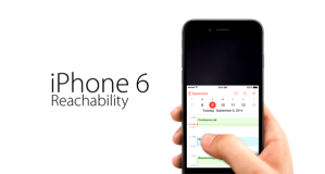 Reachability - iPhone 6 Plus