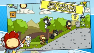 scribblenauts avatars