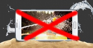 samsung galaxy s6 not waterproof