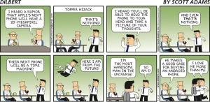 dilbert iphone comic